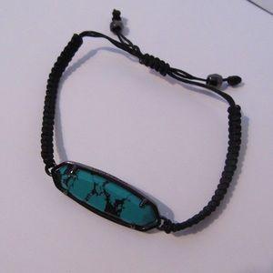 Kendra Scott adjustable woven cord bracelet